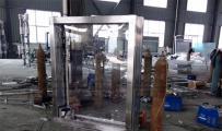 广告灯箱-304不锈钢广告灯箱样品完工