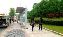公交候车亭-重庆候车亭安装现场