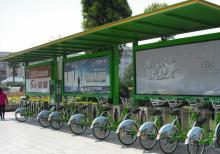 2020宿迁华盛之公共自行车棚