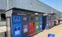 广告垃圾箱-智能分类垃圾箱发货